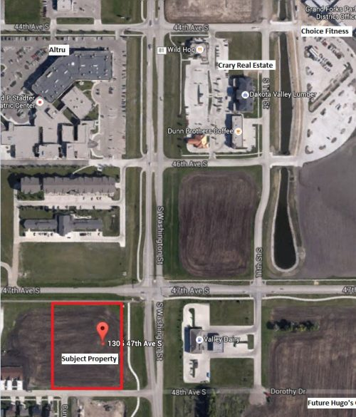2 4 acres for commercial use in south grand forks for Altruy decoration sa