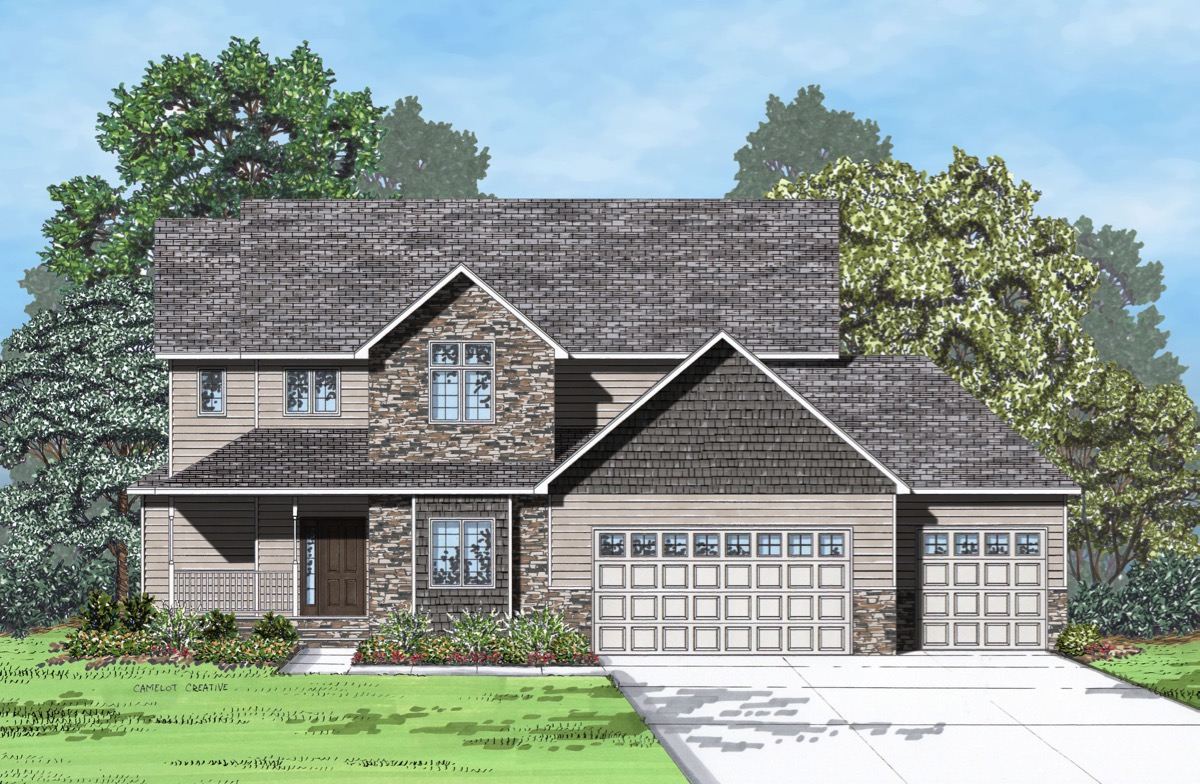 Grand forks nd new homes at leclerc addition crary real for Nd home builders