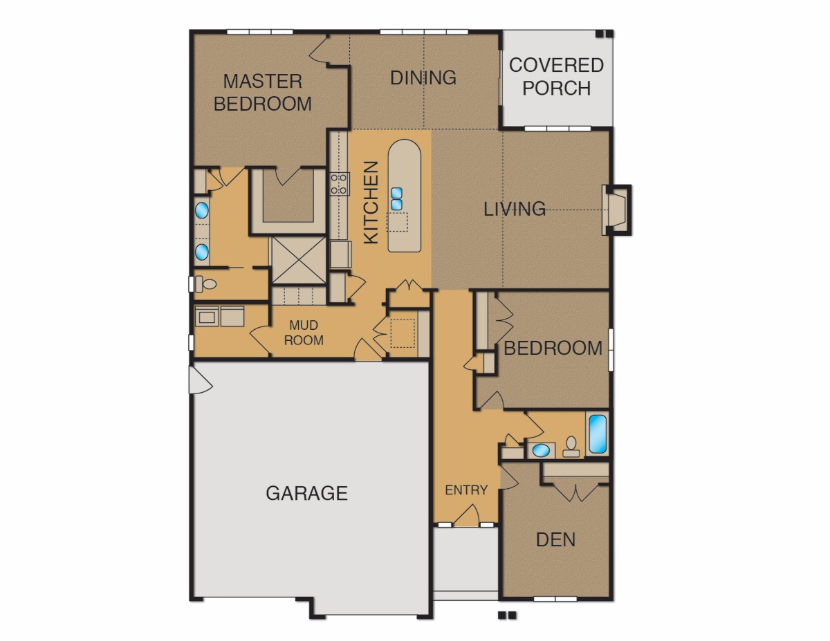 Madison floor plan crary real estate for Madison home builders house plans